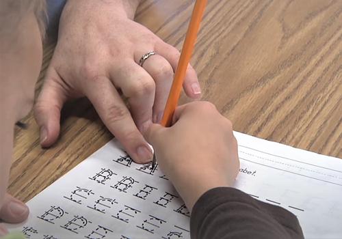 Изучаем с ребенком написание букв